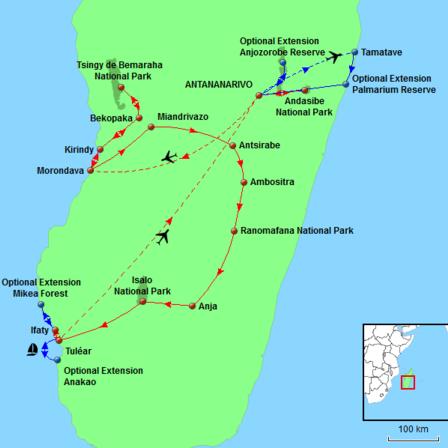Secrets of Madagascar Tour