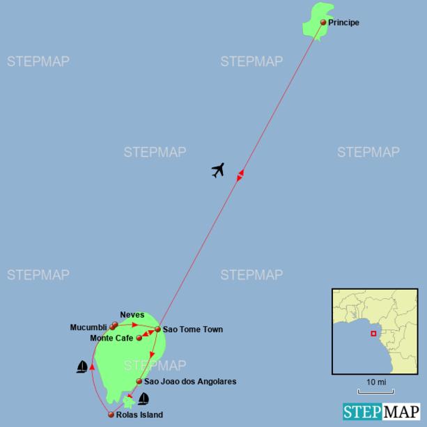 Sao Tome & Principe Holiday - Islands Explorer