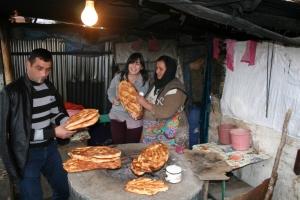 On the road in Azerbaijan