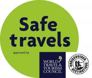 World Travel and Tourism Council Safe Travels Approved